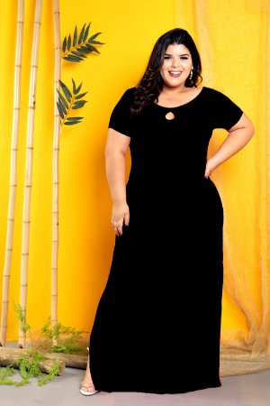 Vestido Long Black