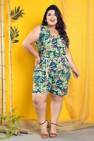 Macaquinho Tropical Green