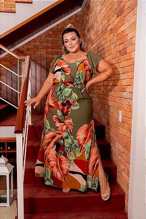 Vestido Elegant Plus Size
