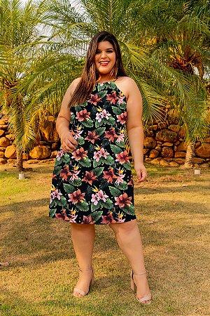 Vestido Biena Floral Plus Size