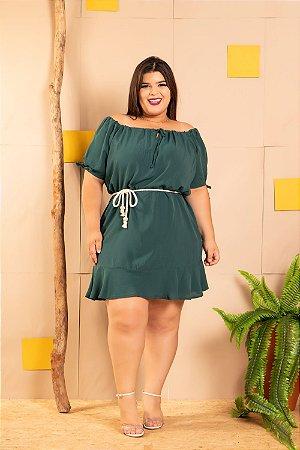 Vestido Megan Green Plus Size