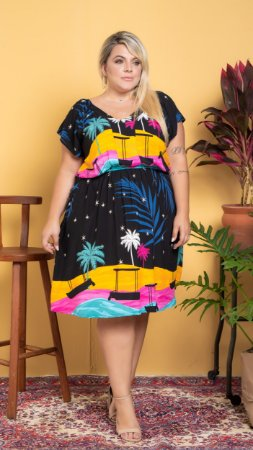 Vestido Euforia Plus Size