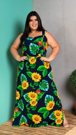 Vestido Long Play Plus Size