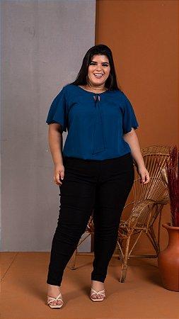 Blusa Night Blue Plus Size