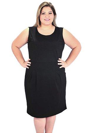 Vestido Clássico Plus Size