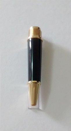 PONTEIRA PARA 163 ROLLERBAL CLASSIC PRETA / DOURADA