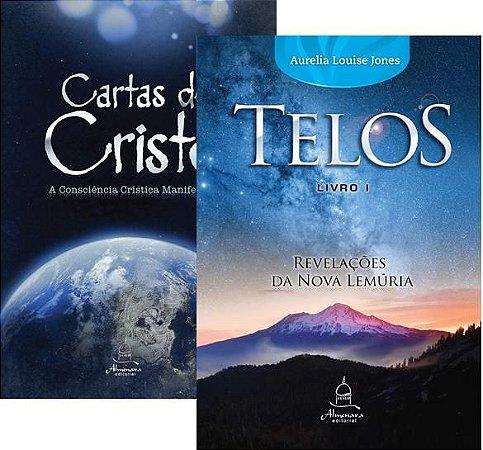 BOX 1- Cartas de Cristo Vol 1 e Telos Livro Um