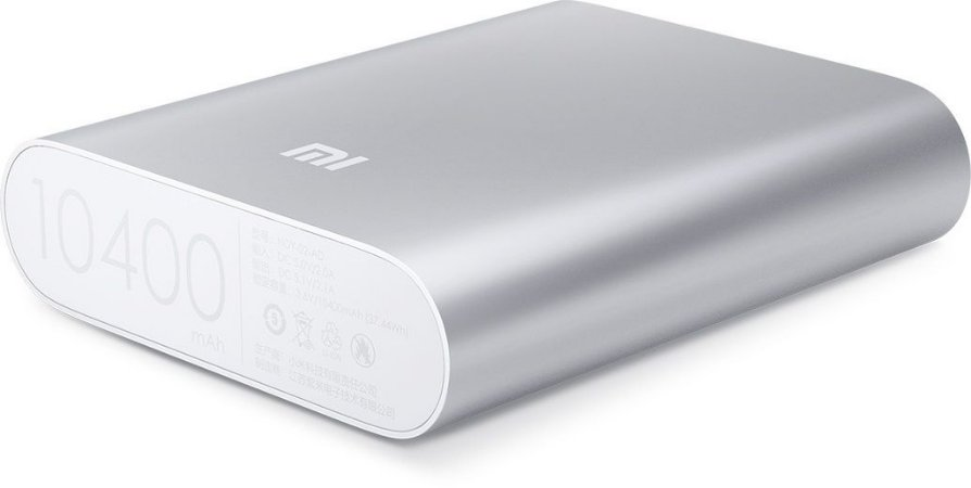 Carregador Portátil Power Bank 10400mAh Xiaomi