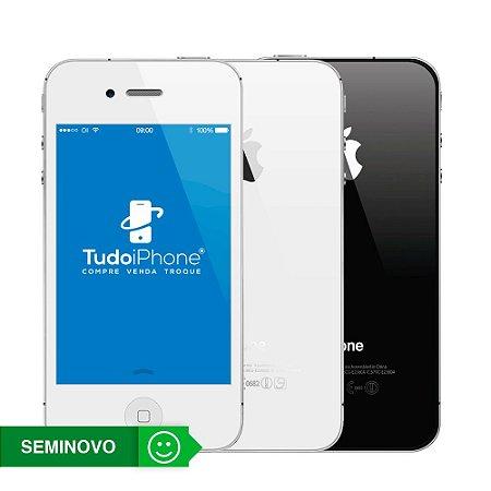 iPhone 4s - 8GB - Seminovo - 3 Meses de Garantia TudoiPhone