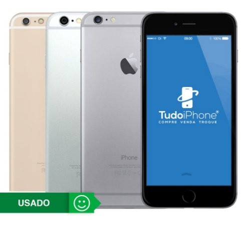 iPhone 6 Plus - 64GB - Usado - 3 Meses de Garantia TudoiPhone