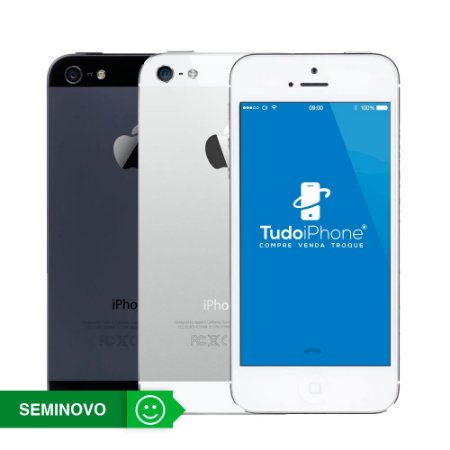 iPhone 5 - 16GB - Seminovo - 3 Meses de Garantia TudoiPhone