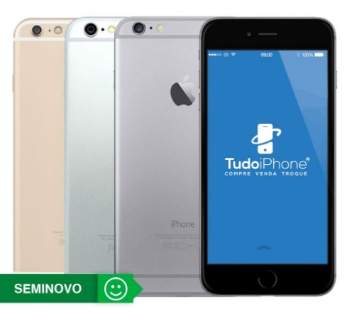 iPhone 6 - 64GB - Seminovo - 6 Meses de Garantia TudoiPhone