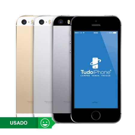 iPhone 5s Anatel - 32GB - Usado - 3 Meses de Garantia TudoiPhone