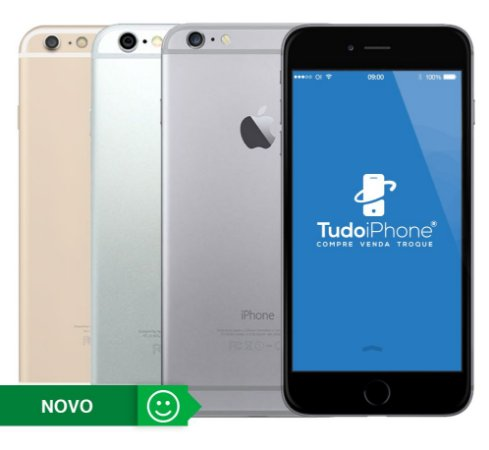iPhone 6 - 64GB - 1 Ano de Garantia Apple