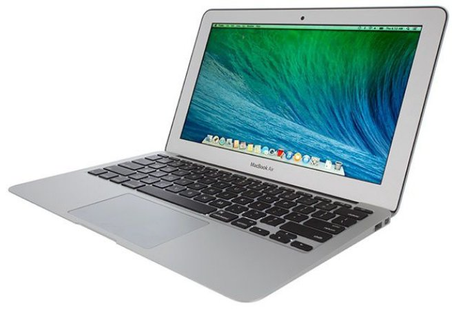 "Macbook Air 11"" 2012 - Intel Core I5 1.7 GHZ - Intel HD Graphics 4000 384 MB - 4GB Ram - 128GB SSD - Usado"