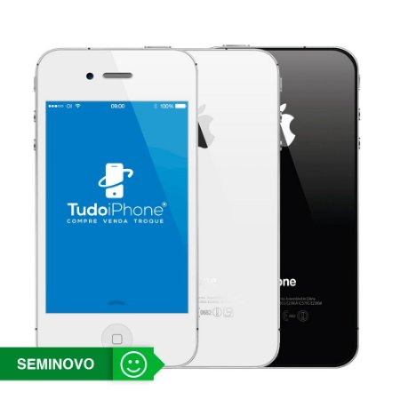 iPhone 4s - 64GB - Seminovo - 3 Meses de Garantia TudoiPhone