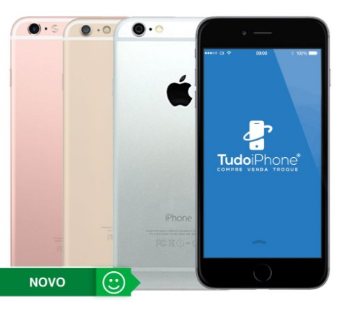 iPhone 6s Plus - 16GB - Novo - 1 Ano de Garantia Apple