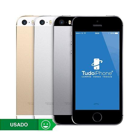 iPhone 5s Importado - 32GB - Usado - 3 Meses de Garantia TudoiPhone