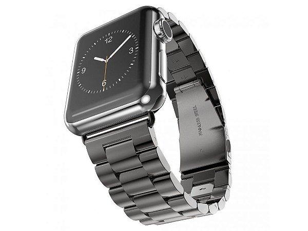 Pulseira de Aço Apple Watch 42mm