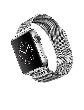 Pulseira de Aço Loop Milanês Apple Watch 42mm