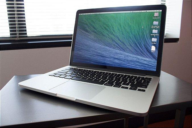 "Macbook Pro 13"" Retina 2013 Intel Core I5 2.4 GHZ / 8GB Ram / 256GB SSD - Usado"