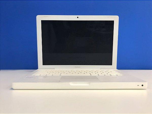 "Macbook White 13"" 2008 - Intel Core i2 2,4 GHZ -  2GB Ram - 160GB HD Sata - Usado - 3 Meses de Garantia TudoiPhone"