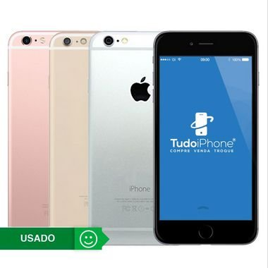 iPhone 6s Plus - 64GB - Usado - 3 Meses de Garantia TudoiPhone