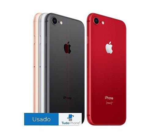 iPhone 8 - 64GB - Usado - 3 Meses de Garantia Apple
