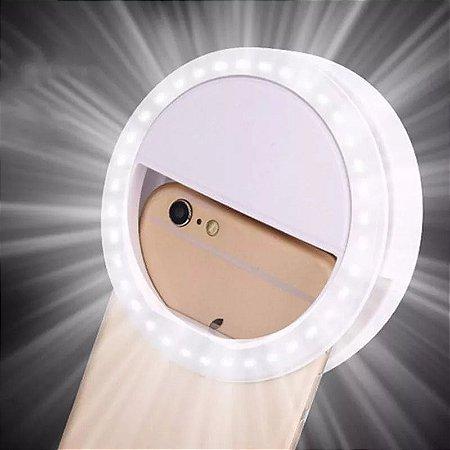 Flash para Selfie - Luz de Led Clipe Anel