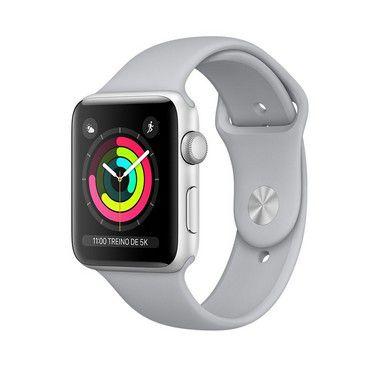 Apple Watch Series 3 Alumínio - 42mm - Seminovo - 1 Ano de Garantia