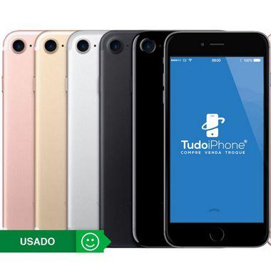 iPhone 7 - 256GB - Usado - 1 Ano de Garantia TudoiPhone