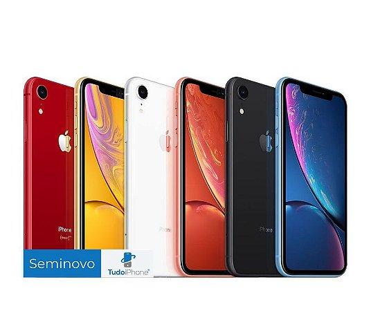 iPhone XR - 256GB - Seminovo - 3 Meses de Garantia TudoiPhone