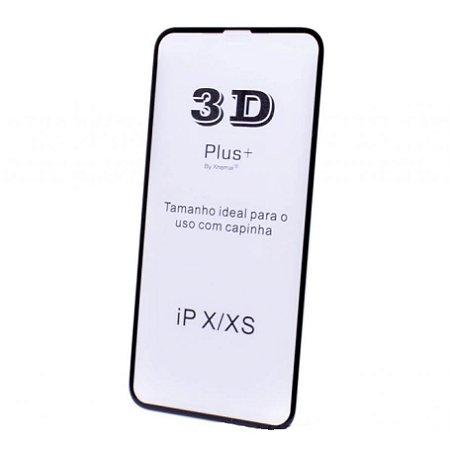 Película de Vidro 3D com Borda para uso com capinha