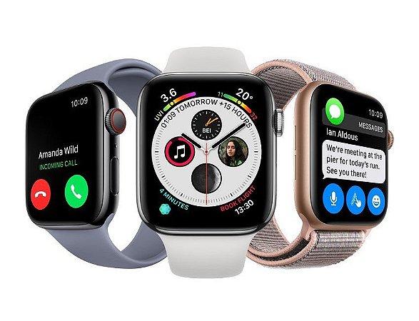 Apple Watch Series 4  - GPS + Celular - 44mm - 1 Ano de Garantia Apple