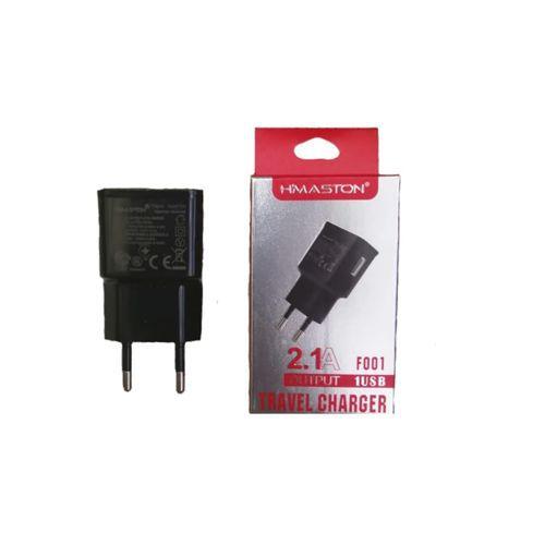 Carregador de Parede Universal - Lateral USB - 2.1A - HMaston - F001