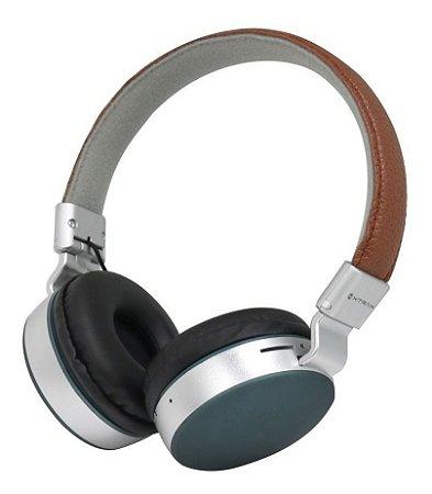 Fone de Ouvido Headset Bluetooth C/ Microfone - Urban com Acabamento em Couro -  Xtrax