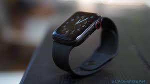 Apple Watch Series 5 Ceramica Titânio - GPS + Cellular  - 44mm - Seminovo