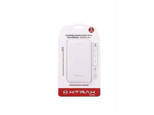 Power Bank - Carregador Portátil Slim - 2500mAh - Xtrax - 3 Anos de Garantia
