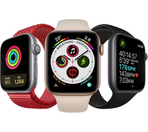 Apple Watch Series 4 - 44mm - GPS - Seminovo - 3 Meses de Garantia TudoiPhone