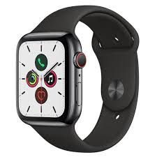 Apple Watch Series 5 - 44mm - GPS + Celular - Alumínio Sport Band - 1 Ano de Garantia Apple