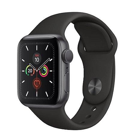 Apple Watch Series 5 - 44mm - Alumínio - Seminovo - 3 Meses de Garantia TudoiPhone