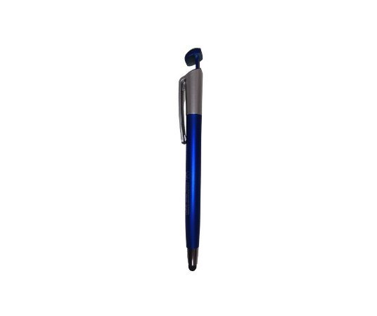 Caneta Plástica TudoiPhone - Touch + Suporte para celular - Azul