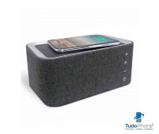 Caixa de som 3 em 1 - Vogue Speaker - carregador por indução+carregador portátil - iwill
