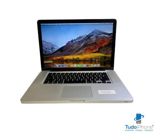 "Macbook Pro 15"" 2010 - 8GB Ram - 480GB SSD - Usado"