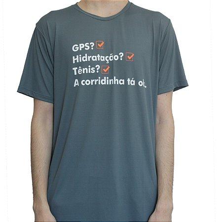 Camiseta Poliamida Esporte Running Corridinha Tá Ok Monaro