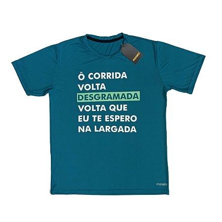 Camiseta Poliamida Esporte Running Ô Corrida Volta Monaro