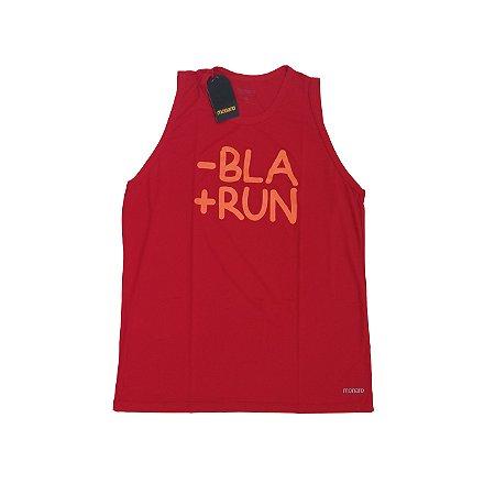 Regata Masculina Poliamida Esporte Running Menos Bla Mais Run Monaro