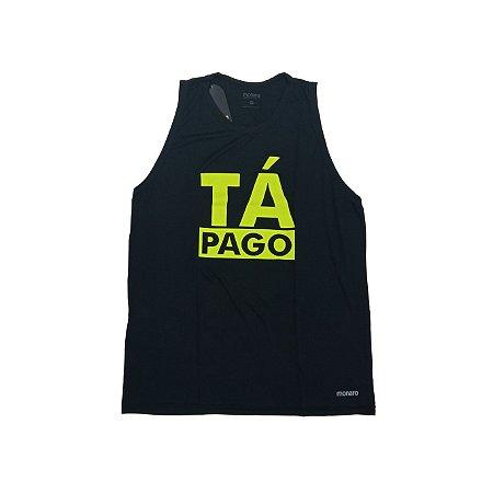 Regata Masculina Poliamida Esporte Running Tá Pago Monaro