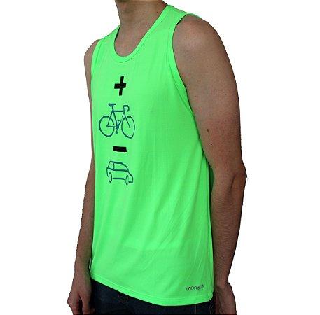 Regata Masculina Poliamida Esporte Running Mais Bike Menos Carro Monaro