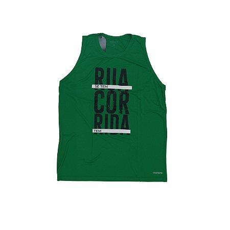 Regata Masculina Poliamida Esporte Running Se Tem Rua Monaro
